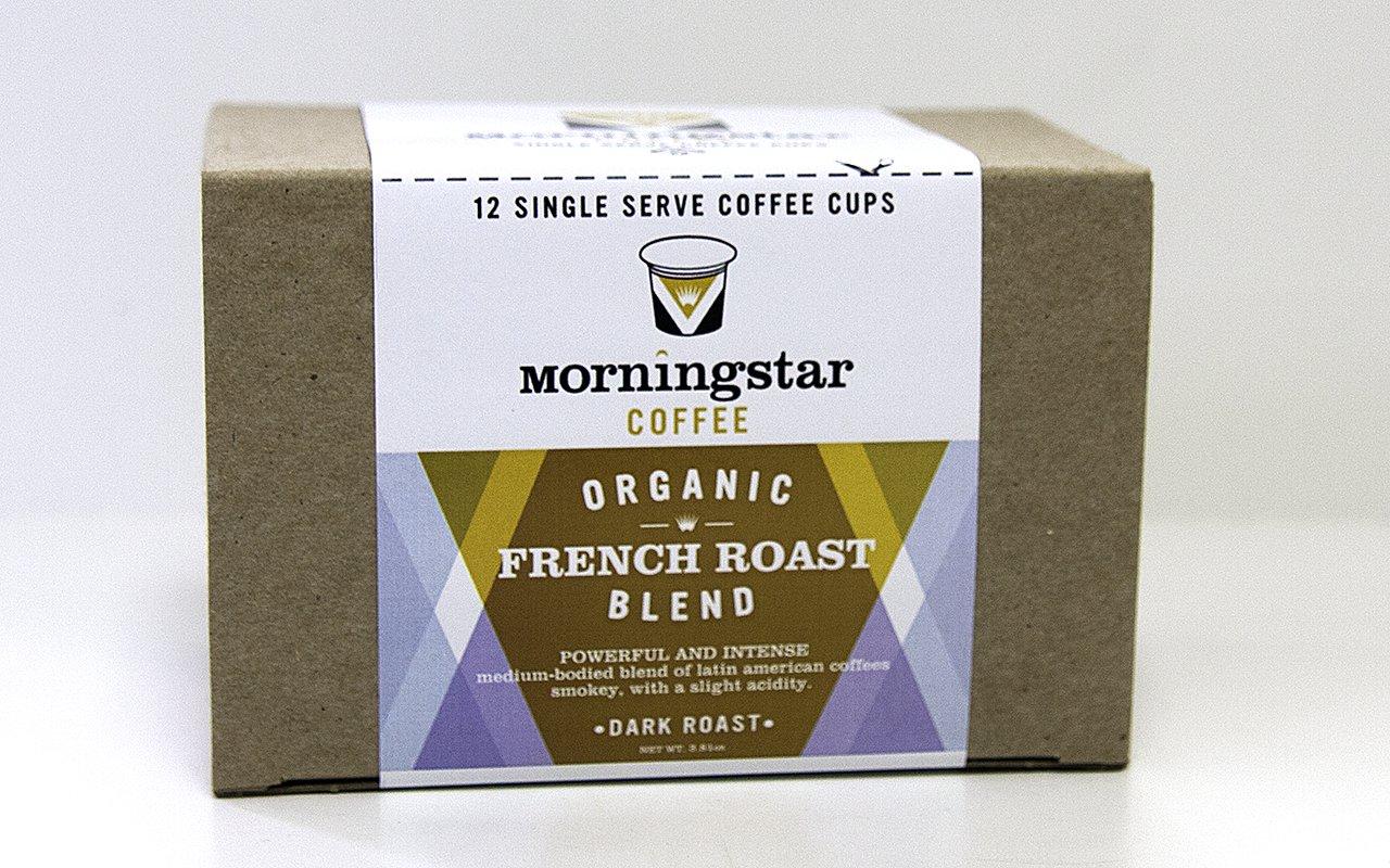 Organic French Roast Single Serve